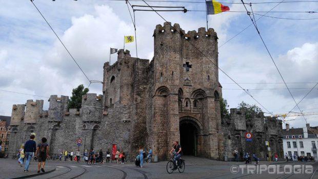 Glavni ulaz u dvorac Gravensteen