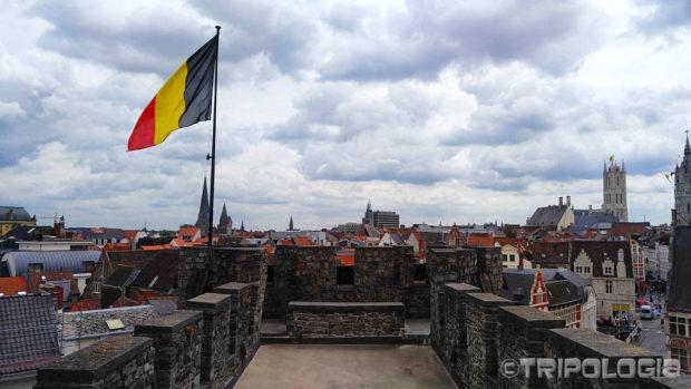 Na vrhu Gravensteen dvorca