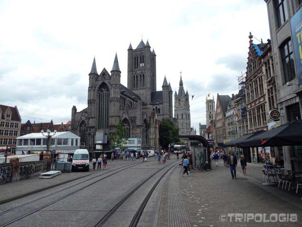 ...u jednom trenutku prikazat će sva tri glavna tornja Genta