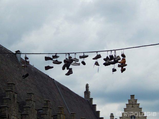 Cipele vise sa kabla