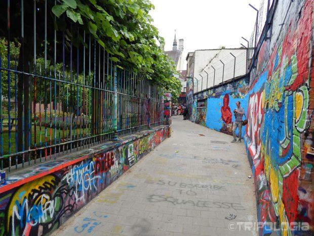Šarena ulica Werrengarestraat...