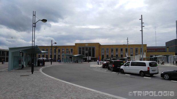 Glavna željeznička stanica u Bruggeu