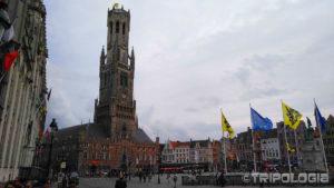 Grote Markt, glavni trg Bruggea i 83 metra visok toranj Belfry