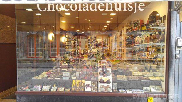 Jedna od brojnih trgovina čokoladom...