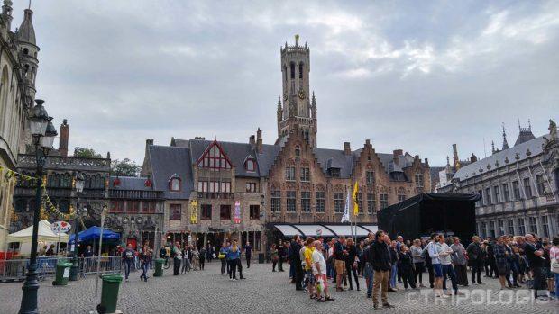 Burg trg u vrijeme održavanja muzičkog festivala
