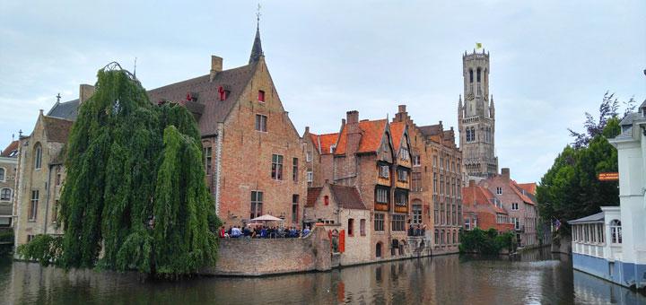 Rozenhoedkaai - najfotografiranije mjesto u Bruggeu