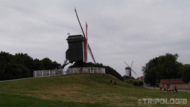 Vjetrenjača Sint-Janshuismolen iz 1765. godine