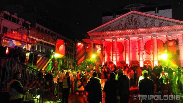 Reggae koncert ispred Opere u Bruxellesu