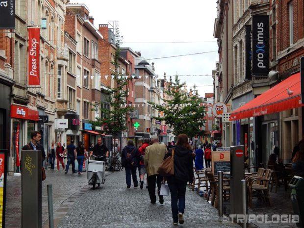 Neobavezna šetnja po ulicama Leuvena...