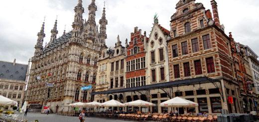 Stadhuis - gradska vijećnica je vjerovatno najpoznatija zgrada u Belgiji