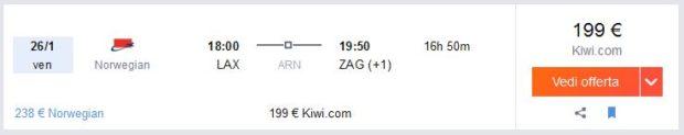 Los Angeles >> Zagreb