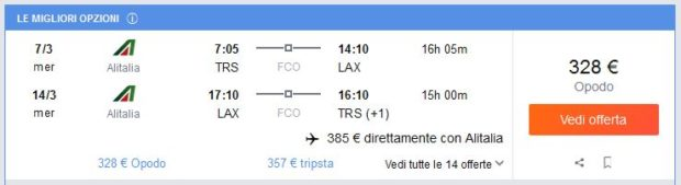 Trst >> Los Angeles >> Trst