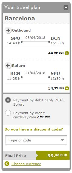 Split >> Barcelona >> Split