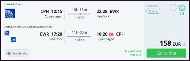 Kopenhagen >> New York >> Kopenhagen