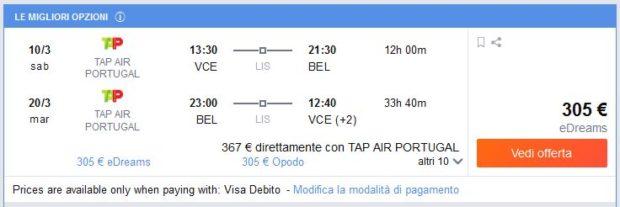 Venecija >> Belem >> Venecija