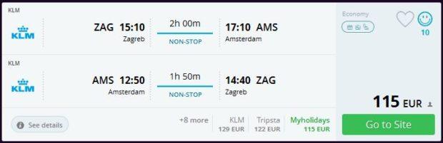 Zagreb >> Amsterdam >> Zagreb