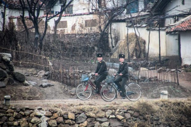 Vlak za Pyongyang